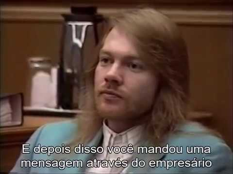 Axl Rose in Court [LEGENDADO]
