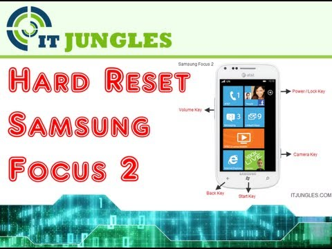 Hard Reset Samsung Focus 2