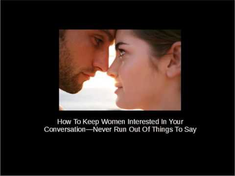 how to keep your woman interested