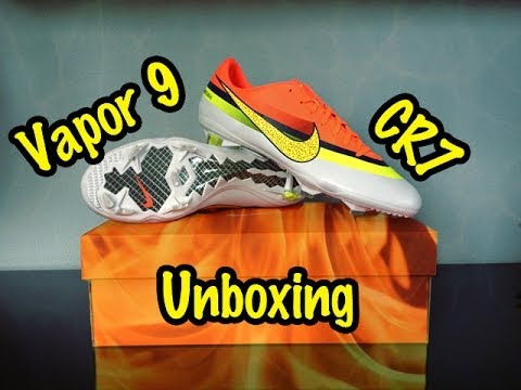 Nike Mercurial Vapor IX 9 CR7 Unboxing - YouTube 94f9b4e9280a8