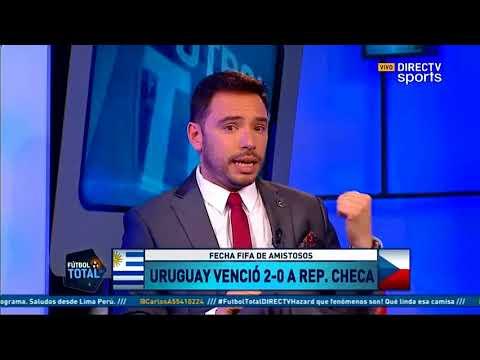 Fútbol Total: Análisis Uruguay 2 República Checa 0 | Portugal 2 Egipto 1 Amistosos