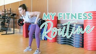 My Fitness Routine | How I Stay Motivated to Workout + Outfits