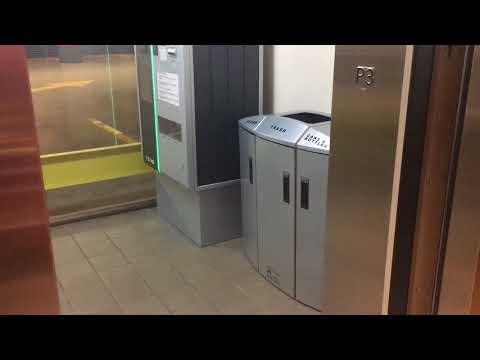 Otis Bottom Drive Traction Parking Elevator @ Standard Life Centre Toronto ON