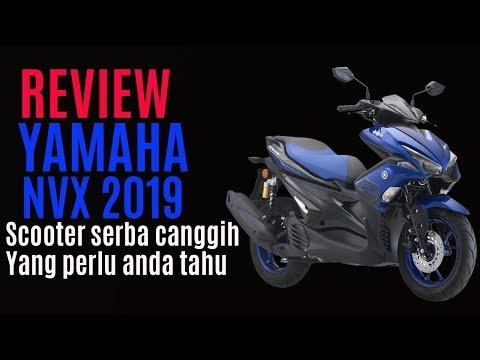 Review Scooter Serba Canggih Yang Perlu Anda Tahu   Yamaha NVX - 2019