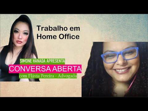 Home Office - Conversa Aberta com Flávia Pereira, advogada trabalhista
