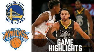 Warriors vs Knicks HIGHLIGHTS Full Game | NBA February 23