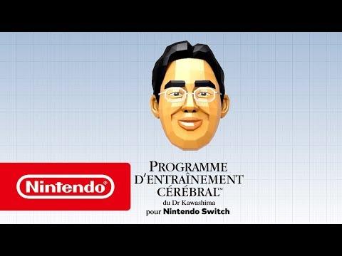 Programme d'entraînement cérébral du Dr Kawashima pour Nintendo Switch - Bande-annonce de lancement