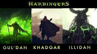 [WoW: Legion] Harbingers - Gul'dan, Khadgar, Illidan Compilation