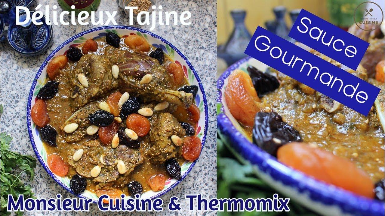 tajine de viande aux pruneaux et abricots monsieur cuisine thermomix
