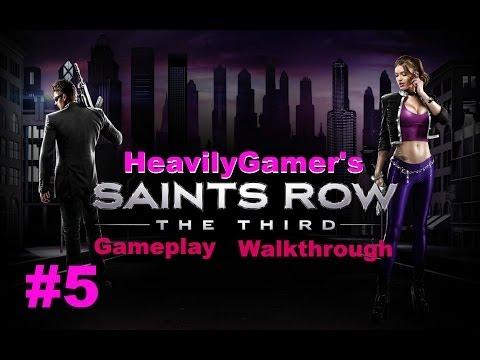 Saints Row The Third Gameplay Walkthrough Part 5:Guardian Angel,Weird Science