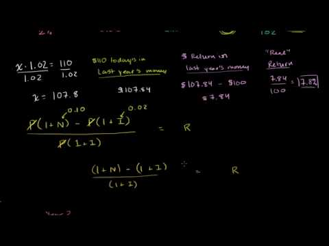 02 - Real and nominal return - 03 - Relation between nominal and real returns and inflation.webm
