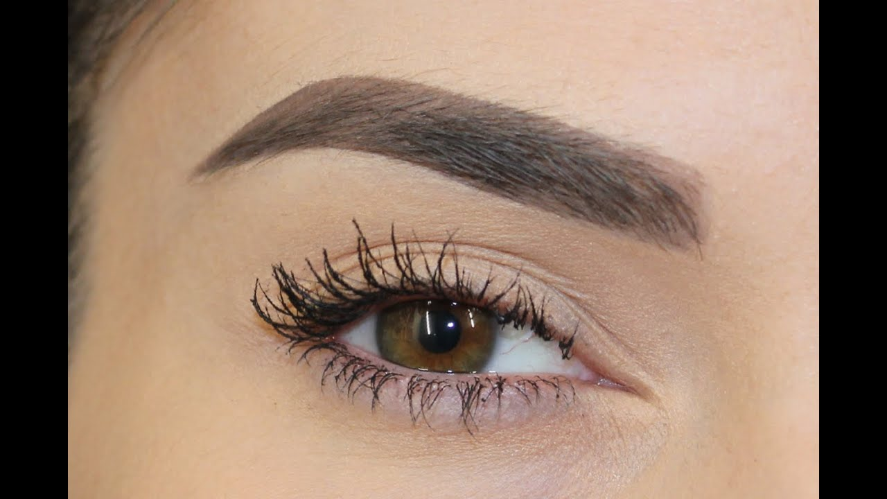 Get The Falsies Look Using Just Mascara Youtube