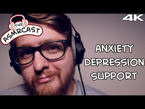 ASMR Therapy – Coping With Anxiety, Dealing With Depression (Binaural 4K 60fps)