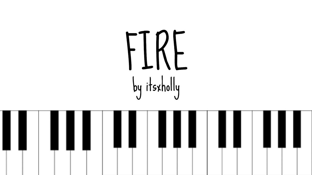 Fire Bts Piano Tutorial Youtube