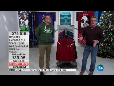 HSN | Football Fan Shop Clearance 12.19.2016 - 07 AM