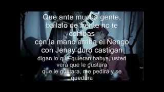 Ñengo Flow Ft. Jenay - Alucinando (Video Letra) (Original) REGGAETON 2014