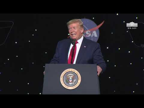 President Trump Delivers Remarks at Kennedy Space Center