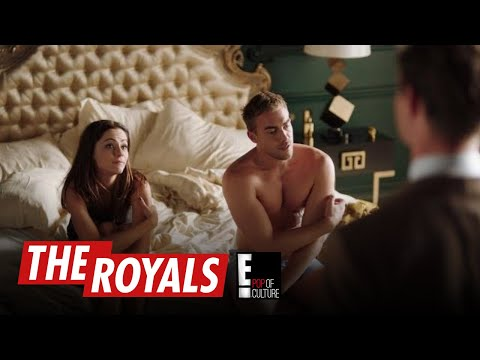 The Royals | Eleanor and Jasper's Cute Moment Interrupted By King Robert | E!