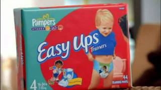 Pampers Easy Ups Reversed Ad
