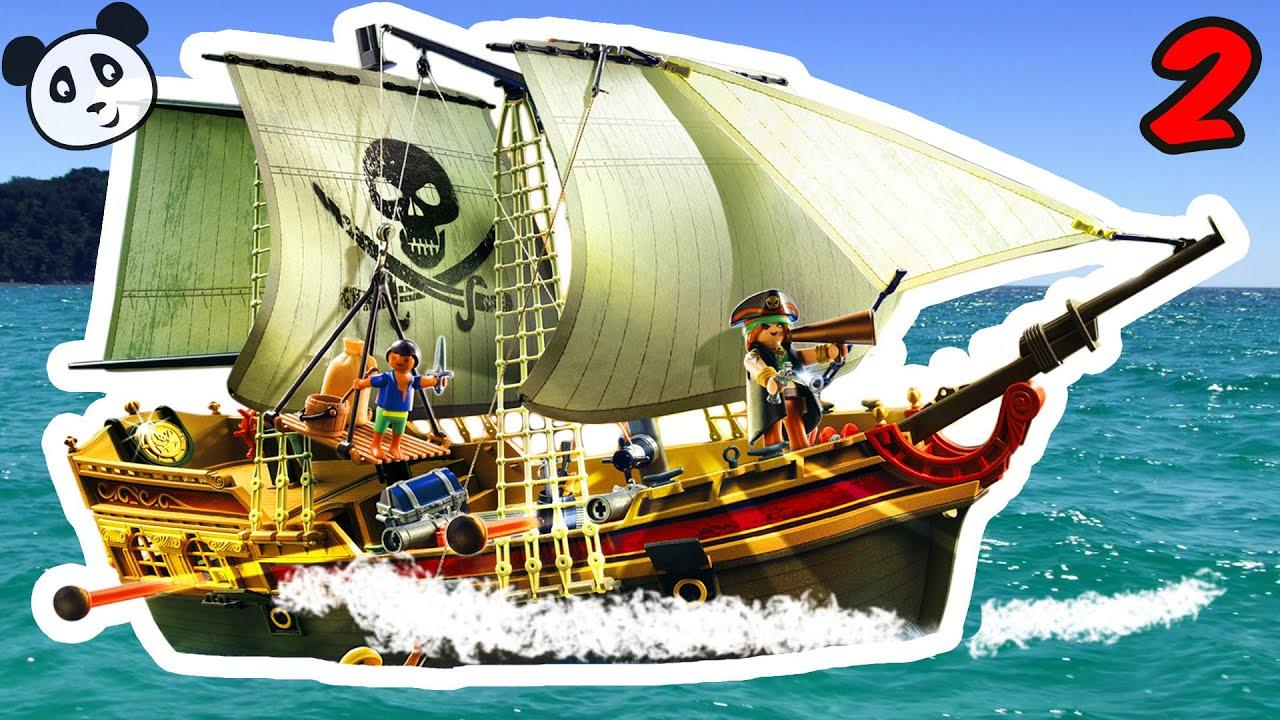 playmobil piraten film deutsch jack und die piraten 2 pandido tv youtube. Black Bedroom Furniture Sets. Home Design Ideas