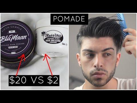 Men's Hair | $2 vs $20 Product: Pomade