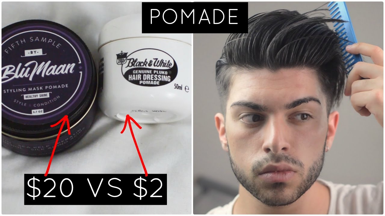 Old Spice Men's Hair Pomade helps tame and shape your hair This hair pomade provides medium hold and a matte finish Gives every hair type or cut a smooth, clean cut look.
