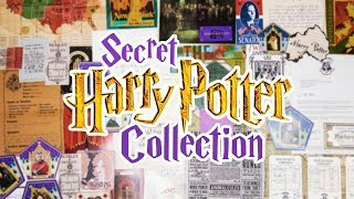 MY SECRET HARRY POTTER COLLECTION | Cherry Wallis
