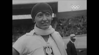 Halina Konopacka - Pierwszy złoty medal dla polski 1928