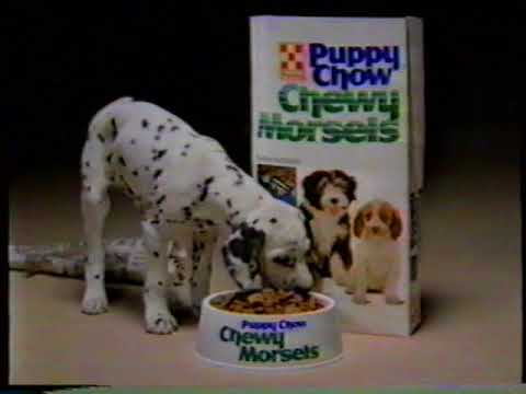 1985 Puppy Chow Chewy Morsels TV Commercial