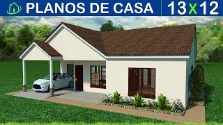 🔴 PLANOS GRATIS DE CASA SENCILLA ►3 Dormitorios ►2 Baños