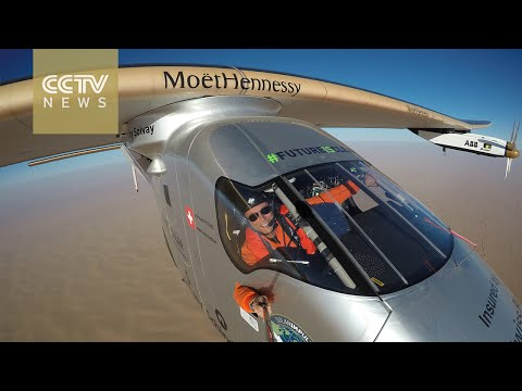 Solar Impulse 2 completes flight around the globe