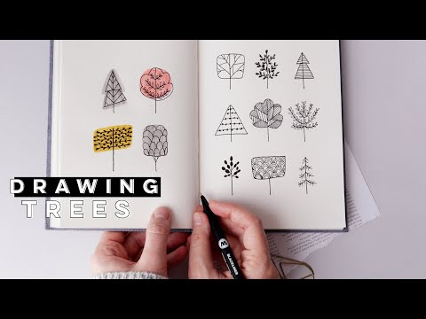 How To Draw Trees | Creative Tree Doodles