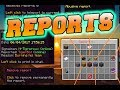 Minecraft Report Plugin