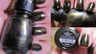 Smalto del giorno: Ei Fu Wagon Trail China Glaze (feat. MissPenny09)