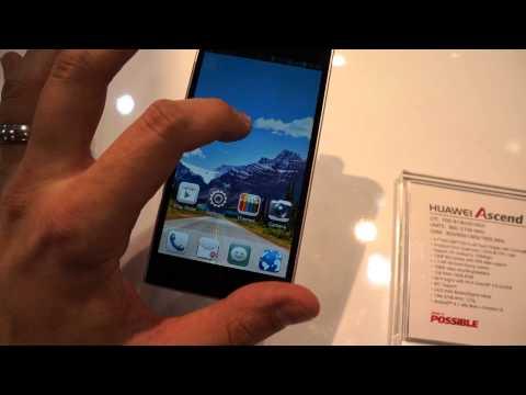 Huawei Ascend P2 [MWC 2013]