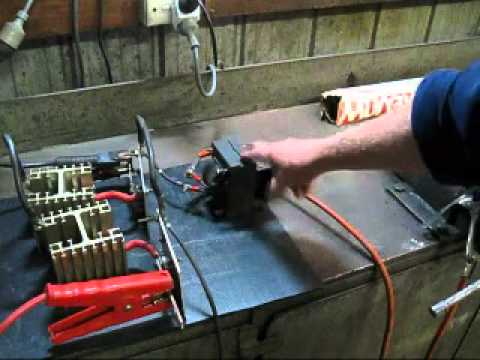 Converting an AC welder for DC output  YouTube
