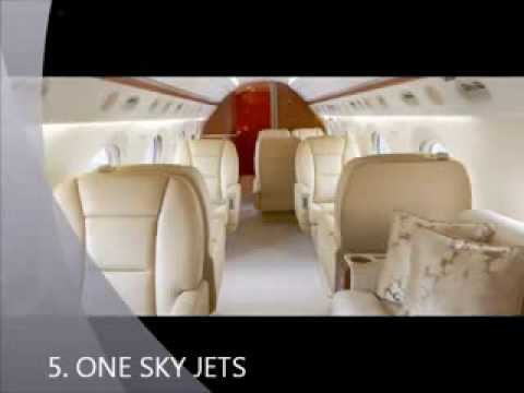 FLY THE WORLD IN STYLE. THE TOP 5 PRIVATE JET CHARTER COMPANIES