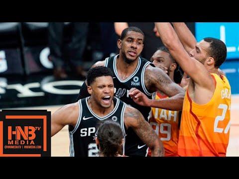 San Antonio Spurs vs Utah Jazz Full Game Highlights | 12.08.2018, NBA Season
