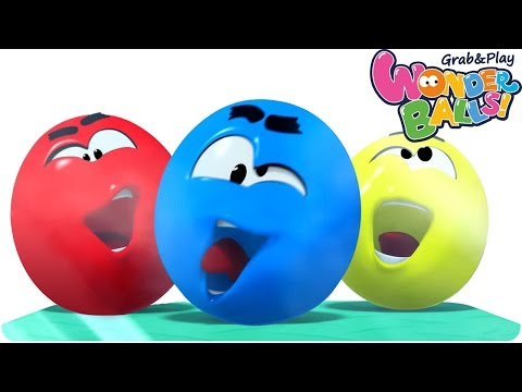 Cartoon | WonderBalls - Color Cruncher | Funny Cartoons For Children | WonderBalls Playground