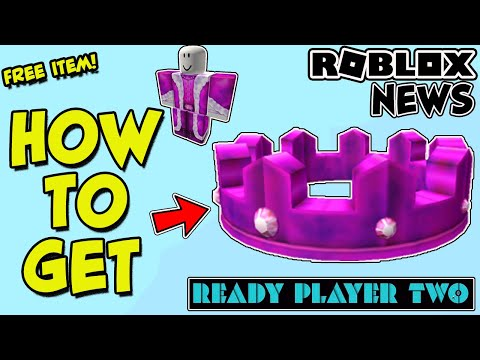[EVENT] HOW TO GET THE CROWN OF MADNESS + ROBE IN ROBLOX - READY PLAYER TWO *FREE ITEM* IN PIGGY