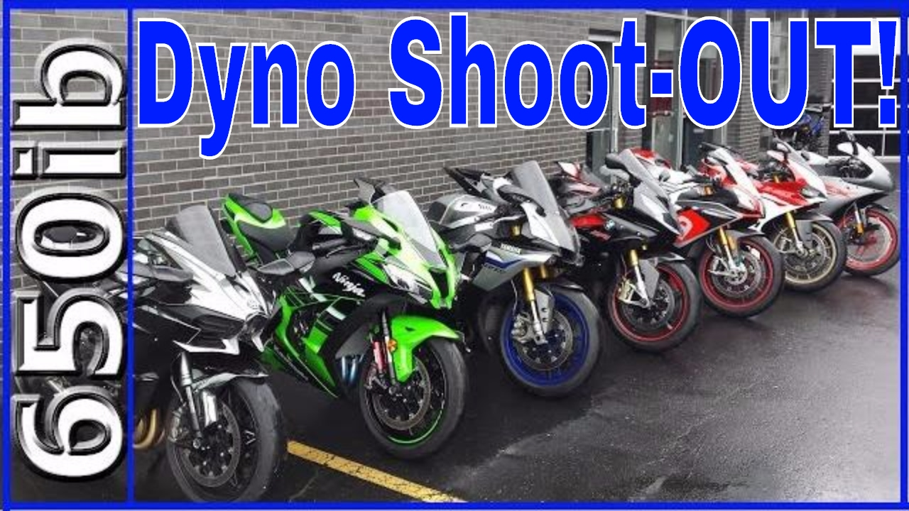 1000cc superbike dyno shoot out youtube