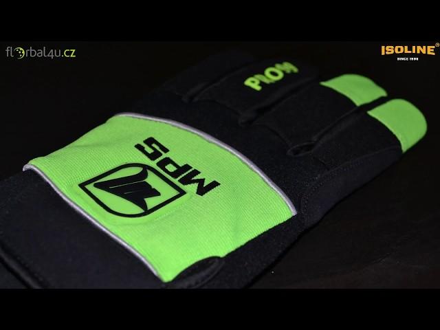 Florbalové brankářské rukavice MPS - videopohled