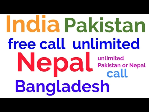 Nepal Pakistan unlimited free calling