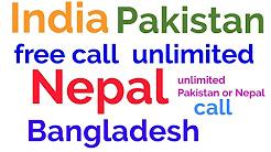 Nepal Pakistan unlimited free calling