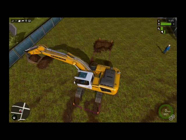 Let's Play Bau-Simulator 2015 | Das Neubau-Gebiet | Folge #009