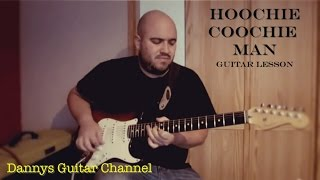 Hoochie Coochie Man - Muddy Waters - Chicago Blues Guitar Lesson