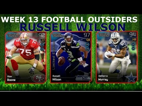 #MUT25 |  New Week 13 Football Outsiders | Limited Edition Russell Wilson, DeMarco Murray & More