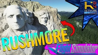 Mt. Rushmore in [Flight Simulator 2020]