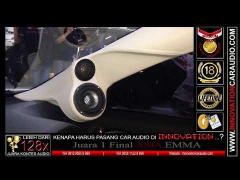 Paket audio 3 way mobil Hrv | 1 hari pengerjaan | Innovation car audio Jakarta