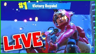 New TRICERA OPS Skin in Fortnite with Mini NINJA Live Stream :)